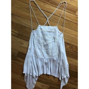 Flowy White Summer Top